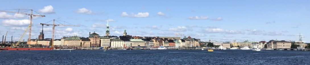Iloa ja aurinkoa Tukholmassa